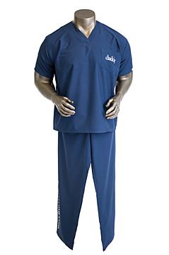 DaddyScrub's classic simple navy scrubs, $44.95 (photo: Daddyscrubs.com)